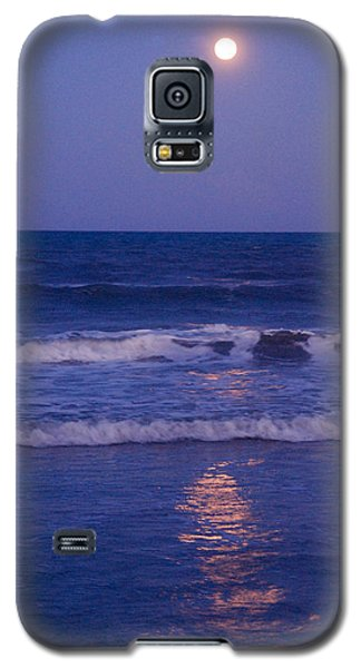 Full Moon Over The Ocean Galaxy S5 Case