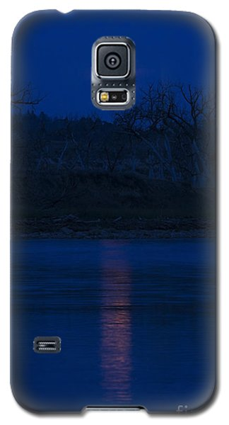 Full Moon Over The Tongue Galaxy S5 Case