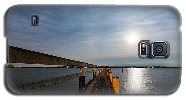 Full Moon Pier Galaxy S5 Case