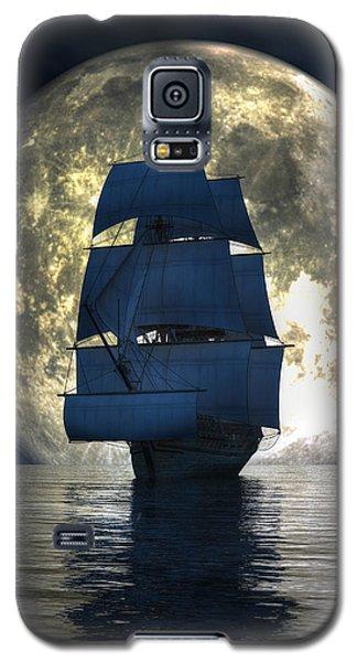 Full Moon Pirates Galaxy S5 Case by Daniel Eskridge