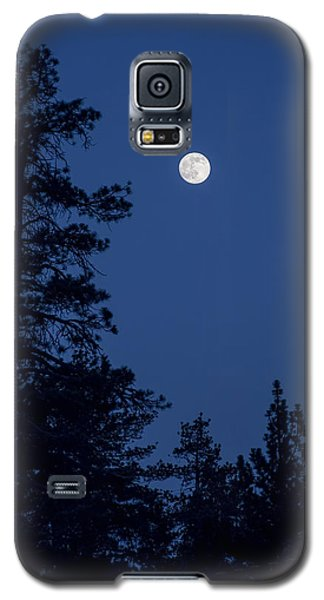 Full Moon Rising Galaxy S5 Case by Eddie Yerkish