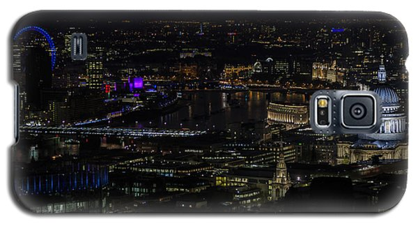 Full Color Moon Rising Over London Skyline  Galaxy S5 Case