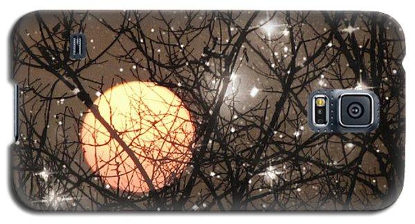 Full Moon Starry Night Galaxy S5 Case