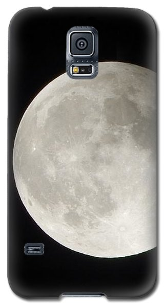 Full Planet Moon Galaxy S5 Case