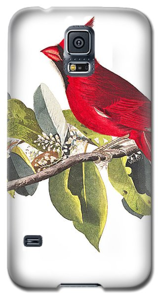 Galaxy S5 Case featuring the photograph Full Red by Munir Alawi
