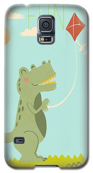 Fun Galaxy S5 Case by Nicole Wilson