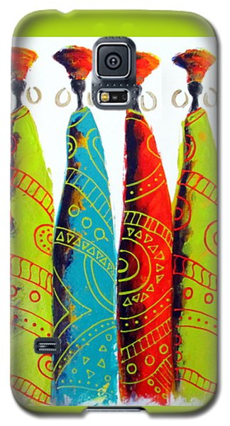 Funky Zulus Galaxy S5 Case