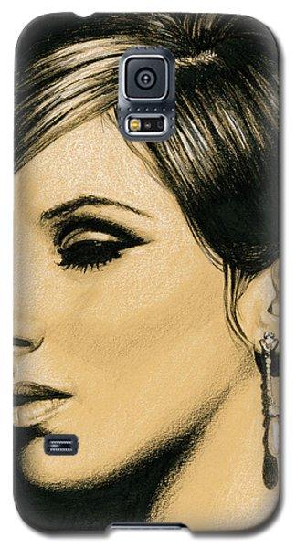 Funny Girl Galaxy S5 Case