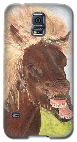 Funny Iceland Horse Galaxy S5 Case