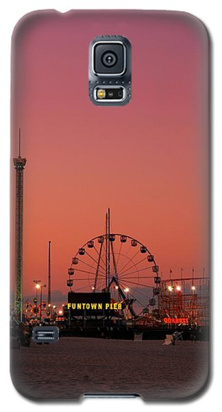 Funtown Pier At Sunset II - Jersey Shore Galaxy S5 Case