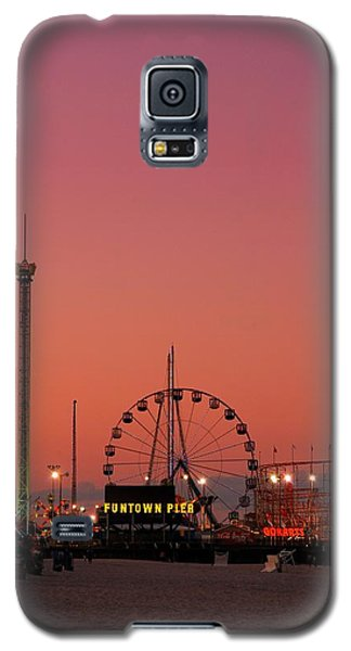 Funtown Pier At Sunset II - Jersey Shore Galaxy S5 Case