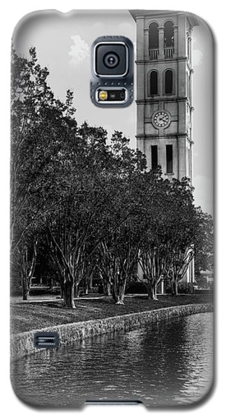 Furman University Bell Tower Greenville South Carolina Black And White Galaxy S5 Case