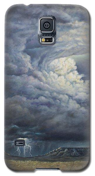 Fury Over Square Butte Galaxy S5 Case