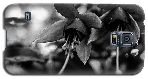 Fuchsia, Black And White Galaxy S5 Case