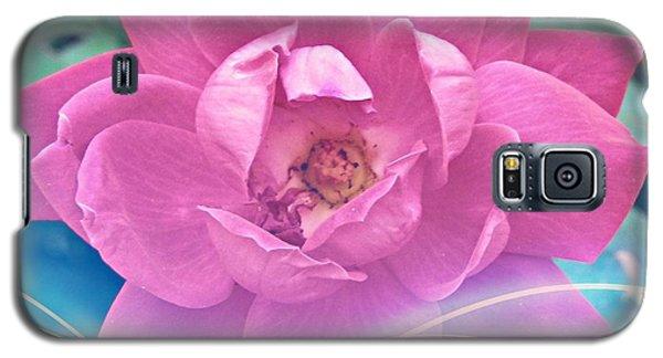 Fuschia Flower Energy Galaxy S5 Case