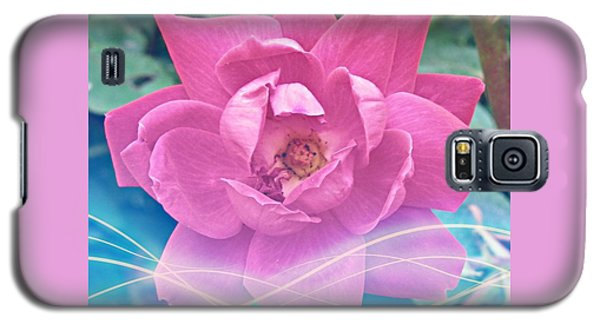 Fuschia Flower Energy Galaxy S5 Case