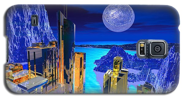 Futuristic City Galaxy S5 Case