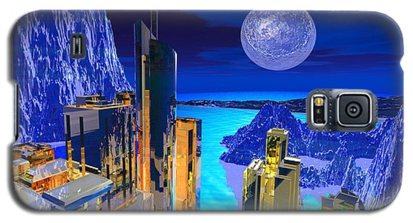 Futuristic City Galaxy S5 Case