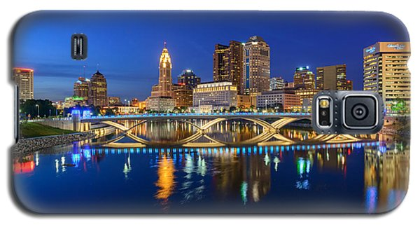 Fx2l531 Columbus Ohio Skyline Photo Galaxy S5 Case