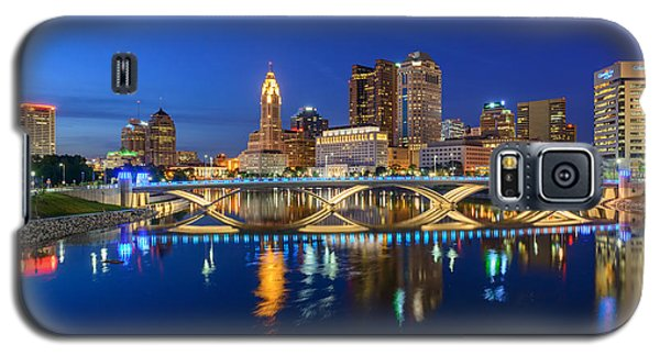 Fx2l531 Columbus Ohio Skyline Photo Galaxy S5 Case