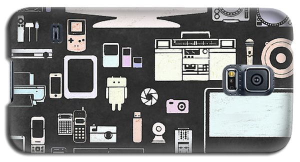 Gadgets Icon Galaxy S5 Case by Setsiri Silapasuwanchai