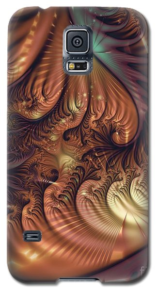 Galaxy S5 Case featuring the digital art Gala by Michelle H