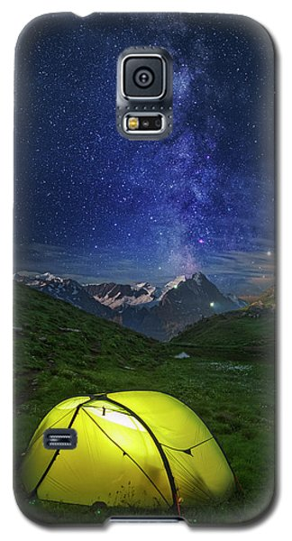 Galactic Eruption Galaxy S5 Case