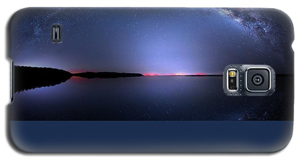 Galaxy S5 Case featuring the photograph Galactic Lake by Mark Andrew Thomas