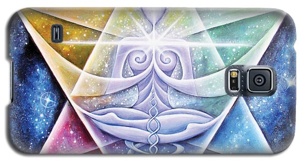 Galactic Starseed Goddess Galaxy S5 Case