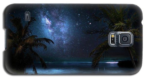 Galaxy Beach Galaxy S5 Case by Mark Andrew Thomas