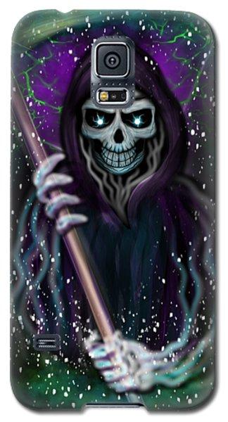 Galaxy Grim Reaper Fantasy Art Galaxy S5 Case