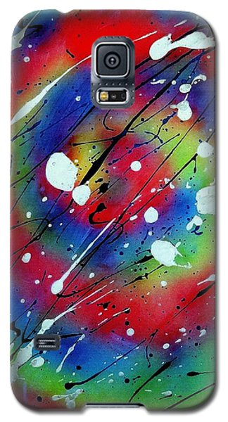 Galaxy S5 Case featuring the painting Galaxy by Patrick Morgan