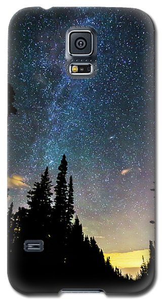 Galaxy S5 Case featuring the photograph  Galaxy Rising by James BO Insogna