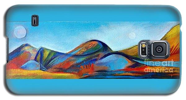 Galaxyscape Galaxy S5 Case by Elizabeth Fontaine-Barr
