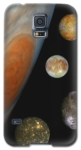Galilean Moons Of Jupiter Galaxy S5 Case