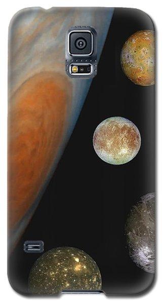 Galilean Moons Of Jupiter Galaxy S5 Case