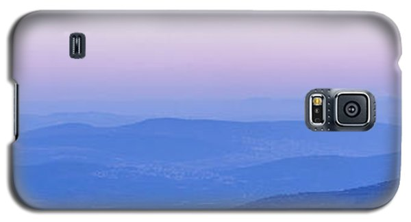 Galaxy S5 Case featuring the photograph Galilee Mountains Sunset by Yoel Koskas