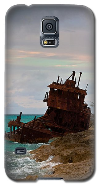 Gallant Lady Aground Galaxy S5 Case by Ed Gleichman