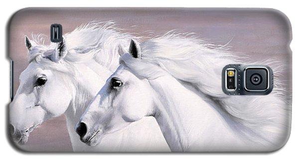 White Horse Galaxy S5 Case - Galoppo Nel Vento by Guido Borelli