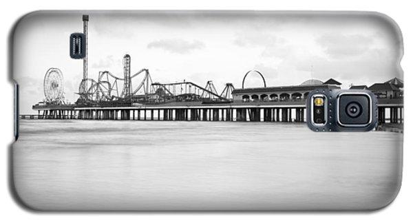 Galveston Pleasure Pier Galaxy S5 Case by Ray Devlin