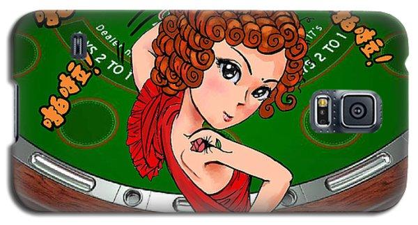 Gambling Galaxy S5 Case by Jieming Wang
