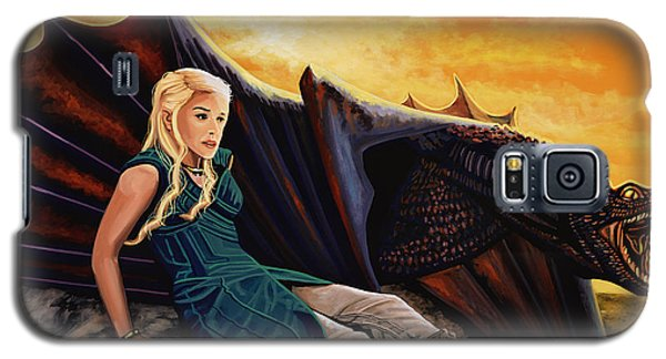 Dragon Galaxy S5 Case - Game Of Thrones Painting by Paul Meijering