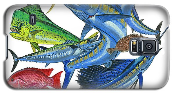 Gamefish Collage Galaxy S5 Case by Carey Chen