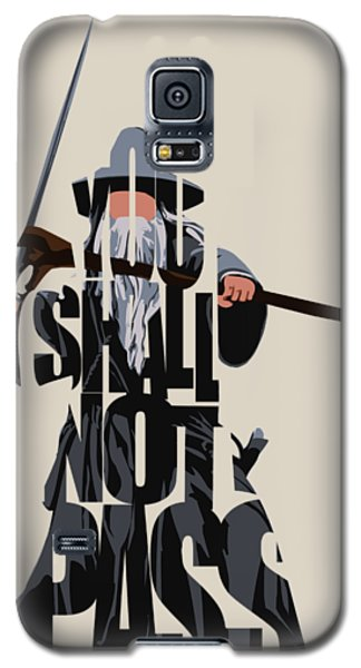 Gandalf - The Lord Of The Rings Galaxy S5 Case