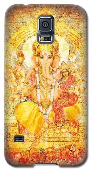 Ganesha Ganapati  Galaxy S5 Case by Ananda Vdovic