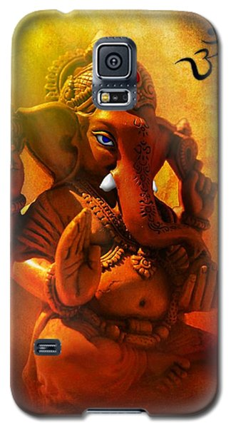 Ganesha Hindu God Asian Art Galaxy S5 Case