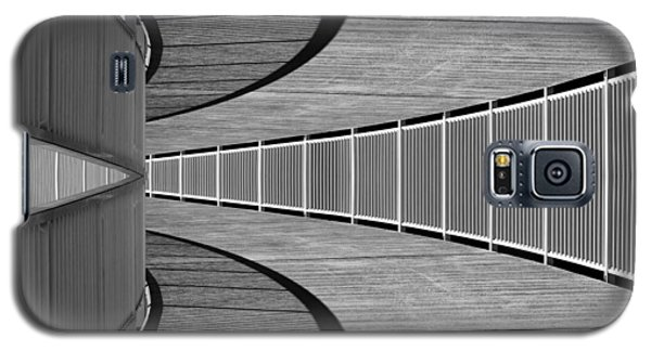 Galaxy S5 Case featuring the photograph Gangway by Chevy Fleet