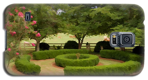 Garden At Colonial Heights Galaxy S5 Case