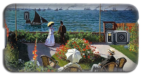 Garden At Sainte Adresse By Claude Monet Galaxy S5 Case
