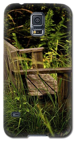 Garden Bench Galaxy S5 Case